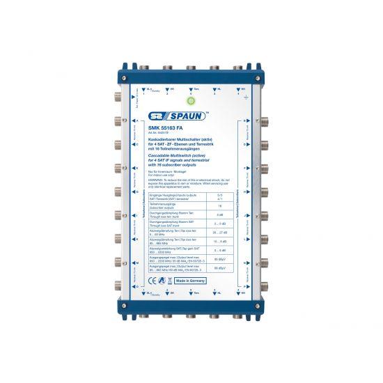 Spaun SMK 55163 FA - multikobling til satellitsignal