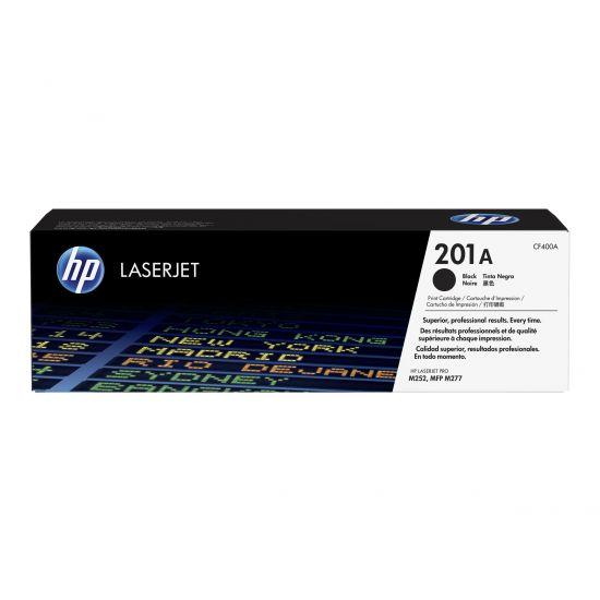 HP 201A - sort - original - LaserJet - tonerpatron (CF400A)