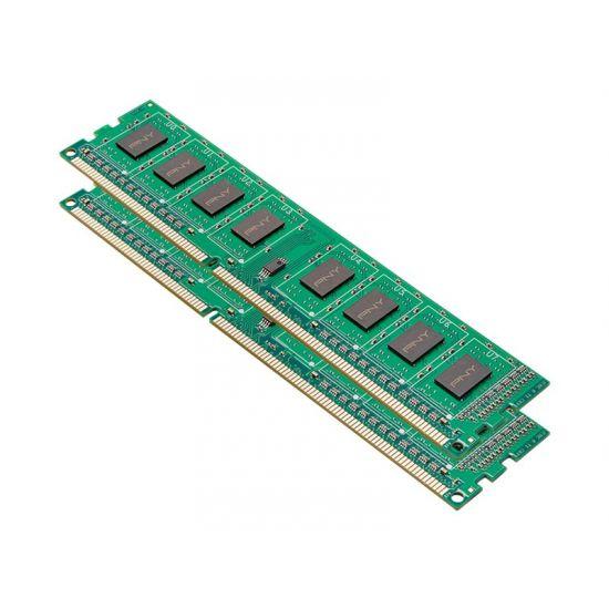 PNY &#45 8GB: 2x4GB &#45 DDR3 &#45 1600MHz &#45 DIMM 240-pin - CL11