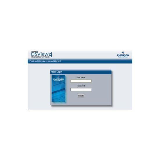 DSView Starter Pack (v. 4.5) - licens - 1 hub, 1 spoke, 250 administrerede enheder