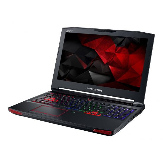 "Acer Predator 15 G9-593-759B - Intel Core i7 7700HQ / 2.8 GHz - 16 GB DDR4 - 2 x 256 GB SSD SATA - NVIDIA GeForce GTX 1070 8GB GDDR5 - 15.6"" IPS"