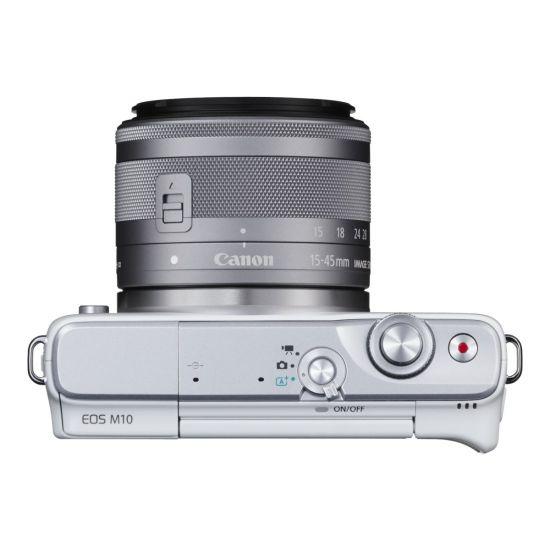 [DEMO] Canon EOS M10 - digitalkamera - kun kamerahus