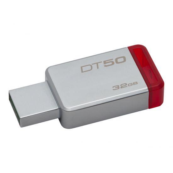 Kingston DataTraveler 50 - USB flashdrive - 32 GB