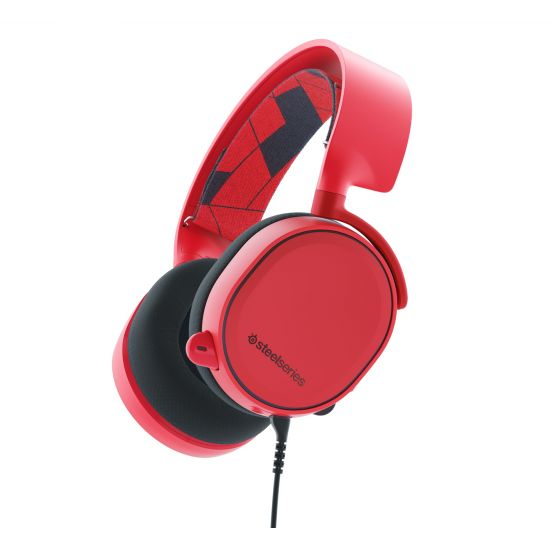 SteelSeries Arctis 3 Solar Red - headset