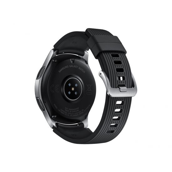 Samsung Galaxy Watch - sølv - smart ur med bånd - 4 GB - ikke specificeret