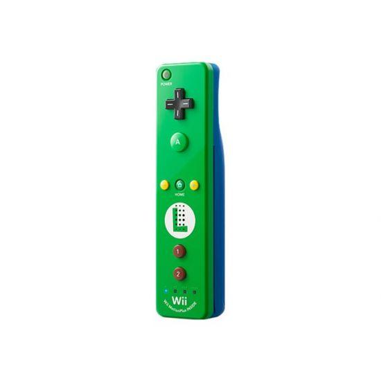 NINTENDO Wii Remote Plus Luigi - Remote - trådløs