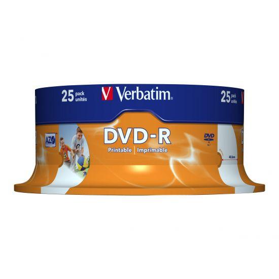 Verbatim - DVD-R x 25 - 4.7 GB - lagringsmedie