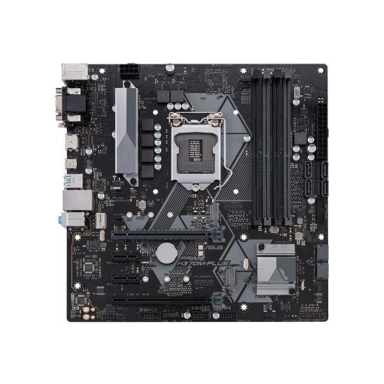 ASUS PRIME H370M-PLUS - bundkort - micro-ATX - LGA1151 Socket - H370
