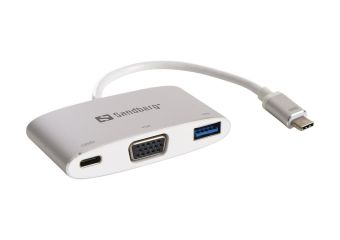 Sandberg USB-C Mini Dock VGA+USB