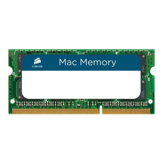 Corsair Mac Memory &#45 16GB: 2x8GB &#45 DDR3 &#45 1333MHz &#45 SO DIMM 204-PIN - CL9