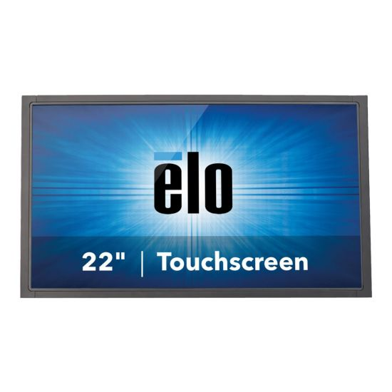 """Elo Open-Frame Touchmonitors 2243L Projected Capacitive &#45 LED-Skærm 22"""" 5ms - Full HD 1920x1080 ved 60Hz"""