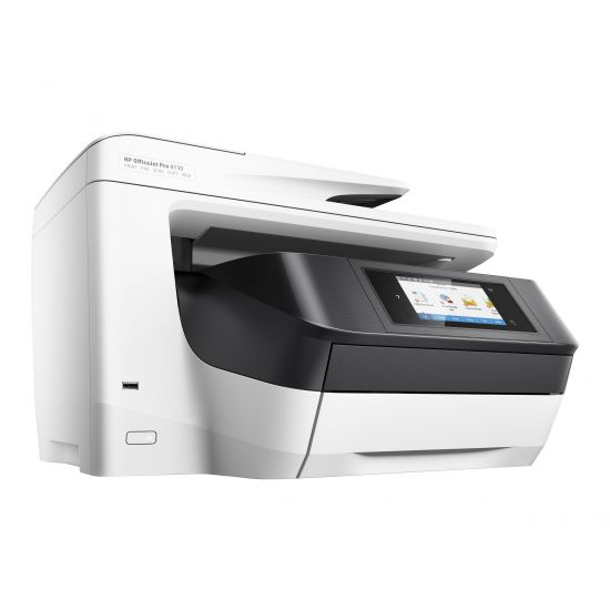 HP Officejet Pro 8730 All-in-One - multifunktionsprinter (farve)