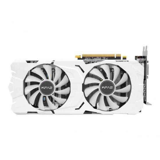 KFA2 GeForce GTX 1070 Ti EX-SNPR WHITE &#45 NVIDIA GTX1070Ti &#45 8GB GDDR5 - PCI Express 3.0 x16