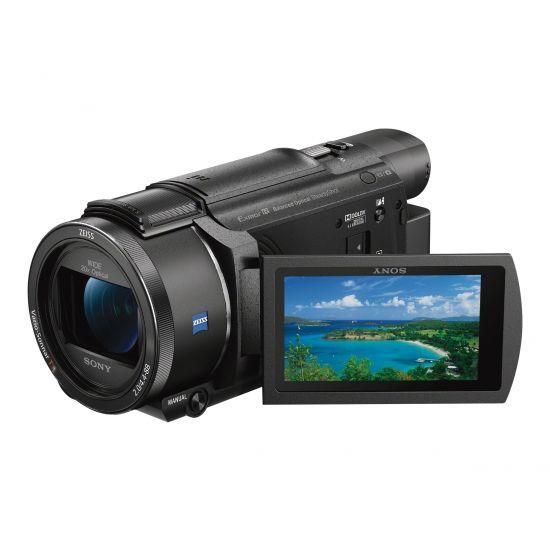 Sony Handycam FDR-AX53 - Videokamera - Carl Zeiss - lagring: flashkort