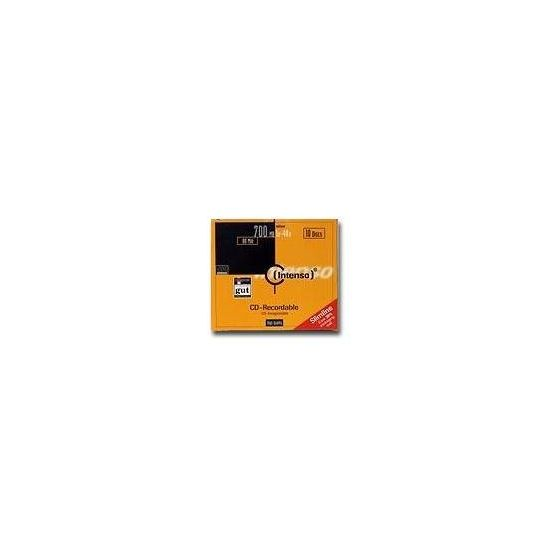 Intenso - CD-R x 10 - 700 MB - lagringsmedie
