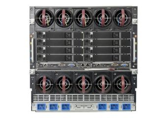 HPE BLc7000 Single-Phase Enclosure w/2 Power Supplies and 4 Fans w/8 Insight Control Environment Trial Licenses