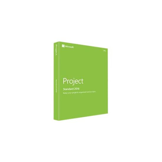 Microsoft Project Standard 2016 - bokspakke - 1 PC