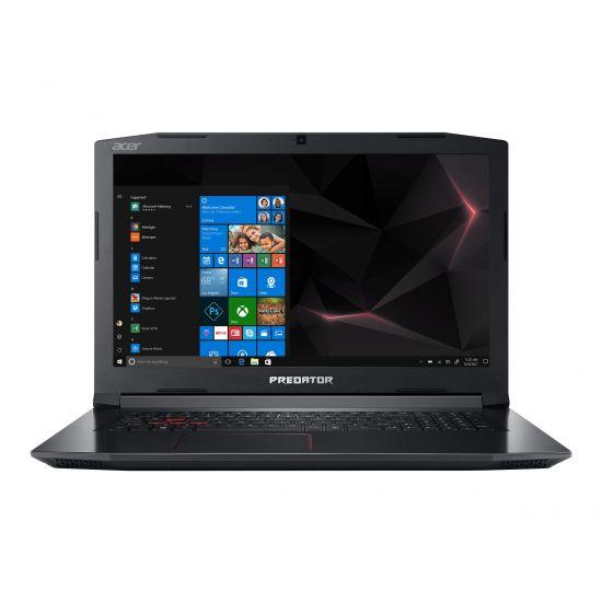 "Acer Predator Helios 300 317-52-78E3 - Intel Core i7 (8. Gen) 8750H / 2.2 GHz - 8 GB DDR4 - 512 GB SSD - (M.2 2280) - Micron - NVIDIA GeForce GTX 1060 - 17.3"" IPS"