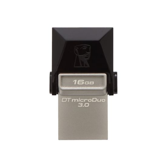 Kingston DataTraveler microDuo - USB flashdrive - 16 GB