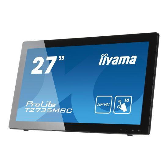 "iiyama ProLite T2735MSC-B2 &#45 LED-Skærm 27"" A-MVA+ 12ms;5ms"
