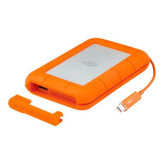 LaCie Rugged Thunderbolt - solid state drive - 500 GB - USB 3.1 Gen 2 / Thunderbolt 3