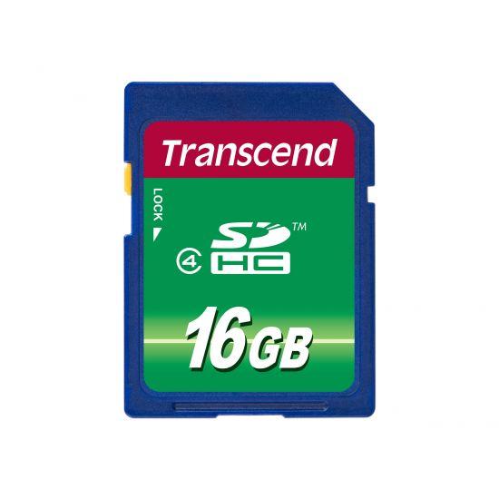 Transcend - flashhukommelseskort - 16 GB - SDHC