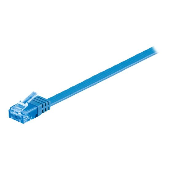 MicroConnect netværkskabel - 7 m - blå