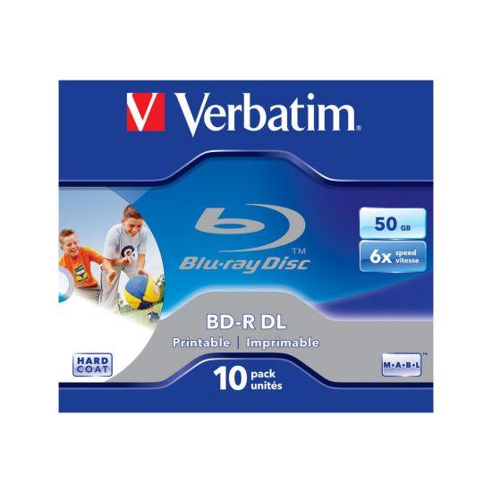 Verbatim - BD-R DL x 10 - 50 GB - lagringsmedie