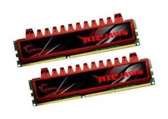 G.Skill Ripjaws &#45 8GB: 2x4GB &#45 DDR3 &#45 1333MHz &#45 DIMM 240-pin