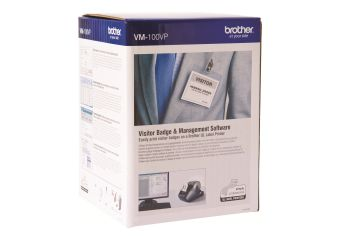 Visitor Badge & Management Software VM-100VP