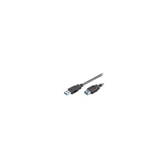 MicroConnect USB 3.0 - USB forlængerkabel - 1 m