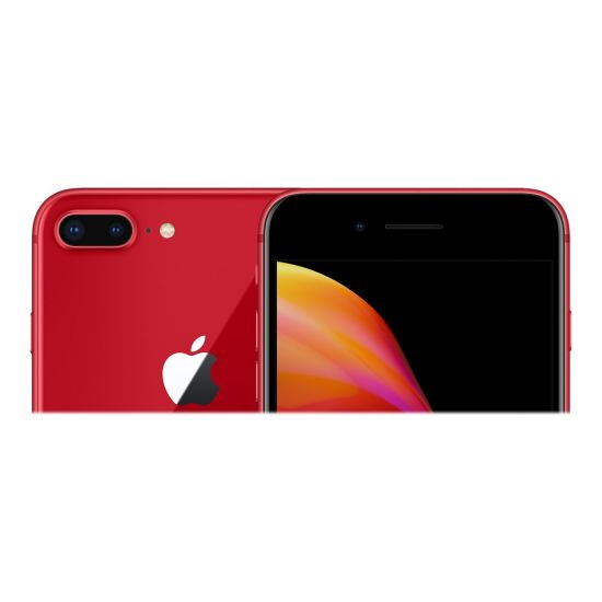Apple iPhone 8 Plus - (PRODUCT) RED Special Edition - mat rød - 4G LTE, LTE Advanced - 256 GB - GSM - smartphone