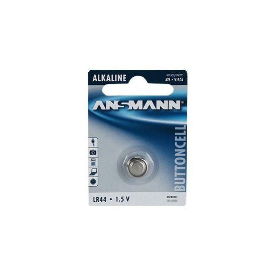 ANSMANN batteri - LR44 - Alkalisk