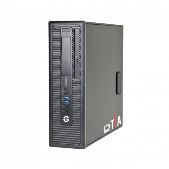 [REFURBISHED] HP EliteDesk 800 G1 (A) -  Intel i5-4570 3.20GHz, 128GB SSD, 4GB RAM,  CDRW-DVDRW, Win10 pro