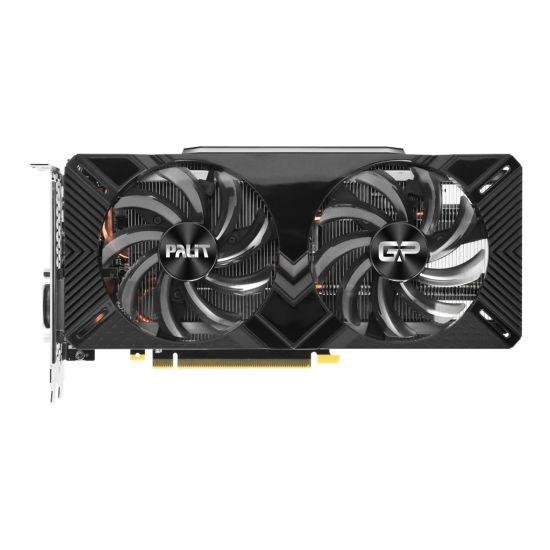 Palit GeForce RTX 2070 Dual &#45 NVIDIA RTX2070 &#45 8GB GDDR6 - PCI Express 3.0 x16