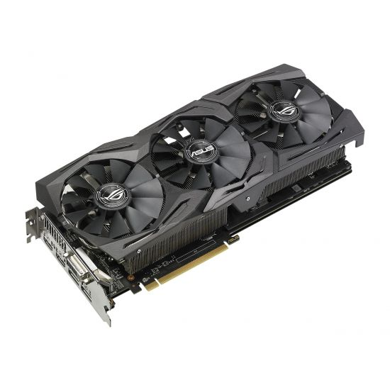 ASUS ROG-STRIX-RX580-O8G-GAMING &#45 AMD Radeon RX580 &#45 8GB GDDR5 - PCI Express 3.0 x16