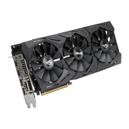 ASUS ROG-STRIX-RX580-O8G-GAMING &#45 AMD Radeon RX580 &#45 8GB GDDR5