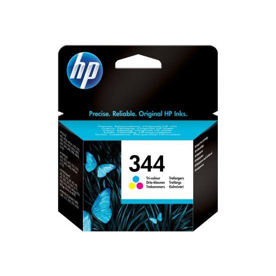 HP 344 - farve (cyan, magenta, gul) - original - blækpatron
