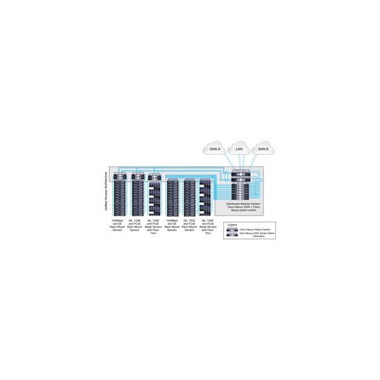 Cisco Airflow Vent Accessory Kit - rack airflow optimizations sæt