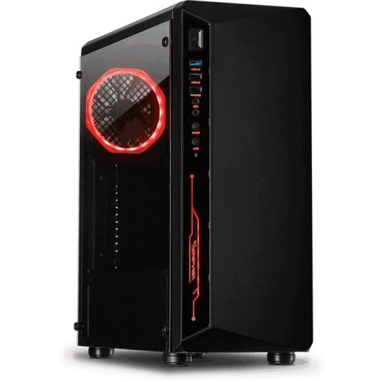 Inter-Tech Case ATX C-3 Saphir