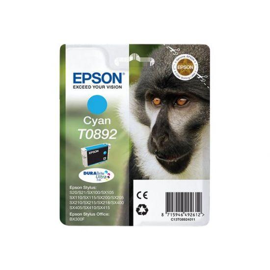 Epson T0892 - cyan - original - blækpatron
