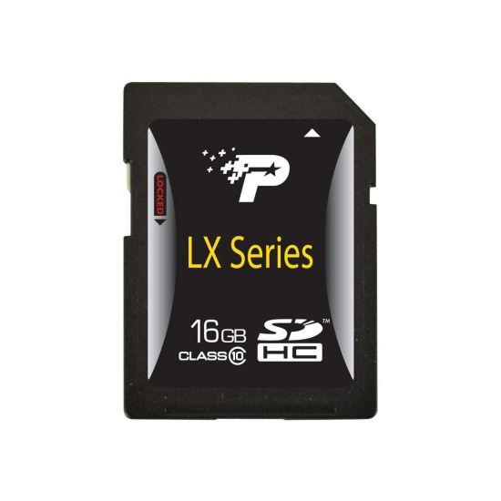 Patriot Signature Flash - flashhukommelseskort - 16 GB - SDHC
