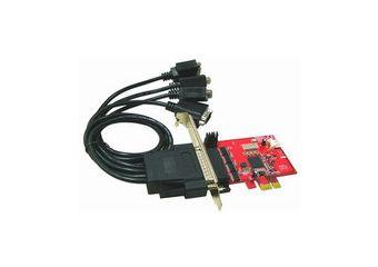 PCIe 4 Ports RS232 5V Output