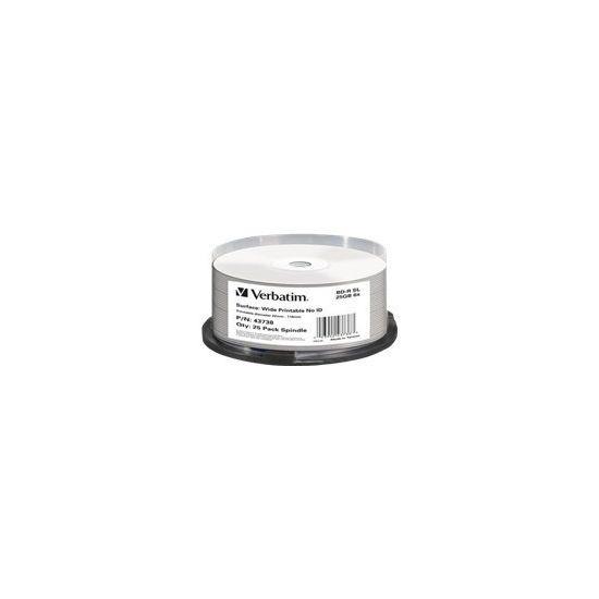 Verbatim - BD-R x 25 - 25 GB - lagringsmedie