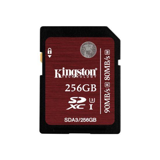 [DEMO] Kingston flashhukommelseskort 256 GB - SDXC UHS-I