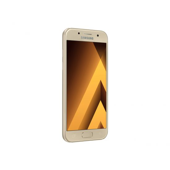 Samsung Galaxy A3 (2017) - SM-A320F - guld-sand - 4G LTE - 16 GB - GSM - smartphone