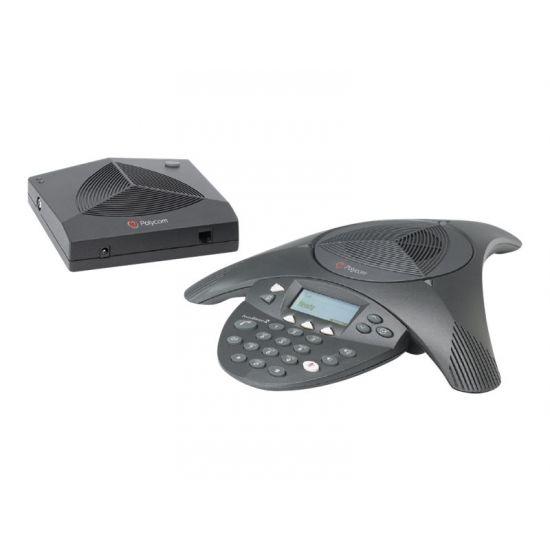 Polycom SoundStation2W EX - trådløs konferencetelefon med opkalds-ID