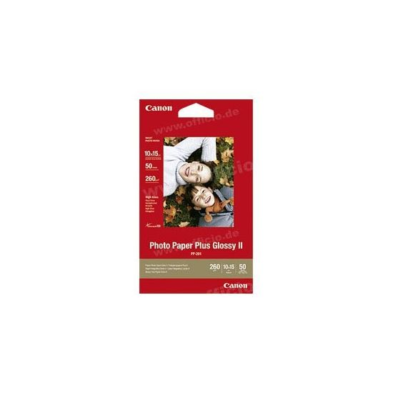Canon Photo Paper Plus Glossy II PP-201 - fotopapir - 50 ark