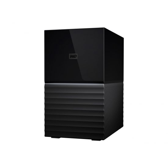 WD My Book Duo WDBFBE0080JBK - harddisk-array