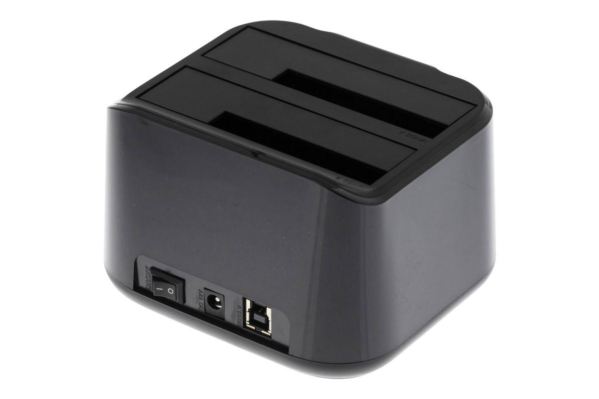 """DELTACO Harddiskdock til 2,5"""", 3,5"""" harddiske til USB 3.0"""